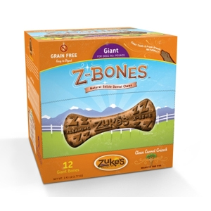 Z-Bone Dental Treats Clean Carrot Crunch Giant, 12 ct