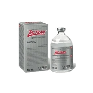 Zactran for Cattle, 100 ml (gamithromycin)