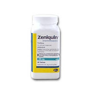 Zeniquin 200 mg, 250 Tablets (marbofloxacin)