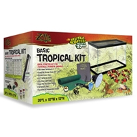 "Zilla Basic Tropical Kit, 10"" x 20"" x 12"""