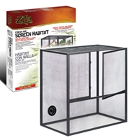 Zilla Fresh Air Screen Habitat, Medium