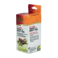 Zilla Gut load Cricket Food 4 Oz
