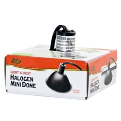 Zilla Halogen Mini Dome Fixture