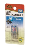 Zilla Halogen Mini Lamp Blue 25W