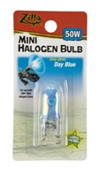Zilla Halogen Mini Lamp Blue 50W