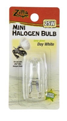 Zilla Halogen Mini Lamp White 25W