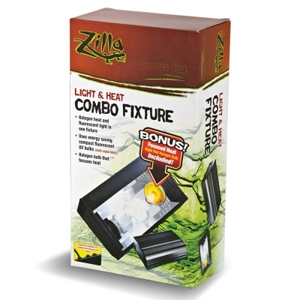 Zilla Light & Heat Combo Fixture