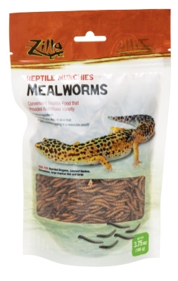 Zilla Reptile Munchies Mealworms