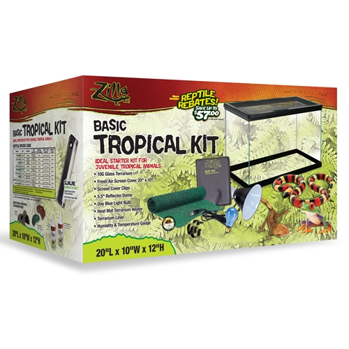 Zilla Tropical Starter Kit 20L