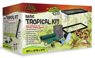 Zilla Tropical Starter Kit