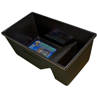 "Zoo Med Turtle Tub Black, 39"" x 21"" x 16"""