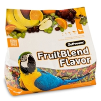 ZuPreem FruitBlend Bird Food for Large Birds, 12 lb