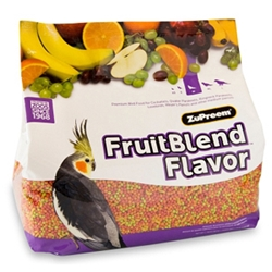 ZuPreem FruitBlend Bird Food for Medium Birds, 12 lb