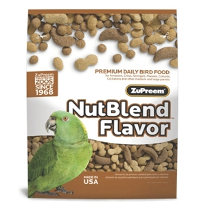 ZuPreem NutBlend Bird Food, 17.5 lb