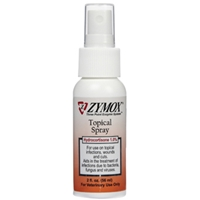 Zymox Topical Spray Hydrocortisone Free, 2 oz
