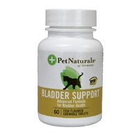 Pet Naturals Bladder Support Tablets for Cats, 60 ct.