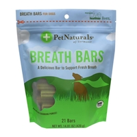 Pet Naturals Breath Bars for Dogs, 14.81 oz, 21 ct.