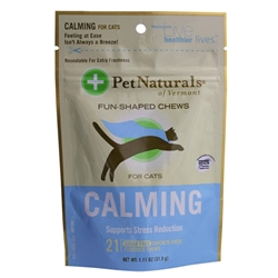 Pet Naturals Calming Soft Chews for Cats, 1.12 oz, 21 ct.