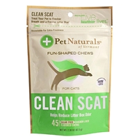 Pet Naturals Clean Scat Soft Chews for Cats, 2.38 oz, 45 ct.