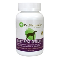 Pet Naturals Daily Best Multi-Vitamin Tablets for Senior Dogs, 60 ct.