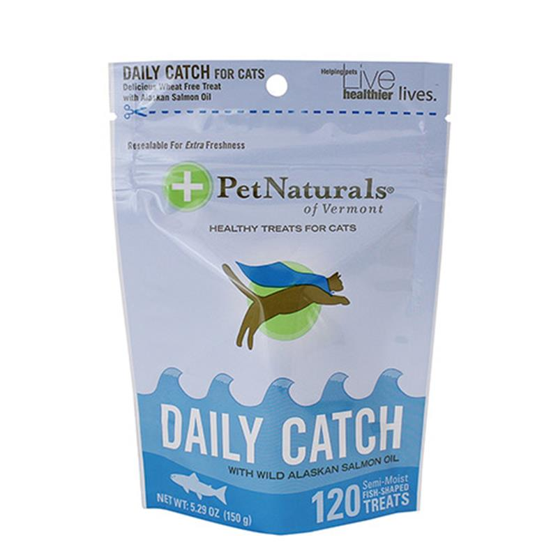 Pet Naturals Daily Catch with WASO Soft Chews for Cats, 5.29 oz, 120 ct.