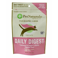 Pet Naturals Daily Digest Soft Chews for Cats, 1.27 oz, 30 ct.