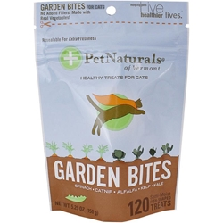 Pet Naturals Garden Bites Soft Chews for Cats, 5.29 oz, 120 ct.