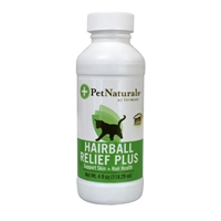 Pet Naturals Hairball Relief Plus, 4 oz