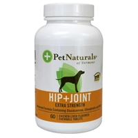 Pet Naturals Hip & Joint Extra Strength Tablets for Dogs, 60 ct.