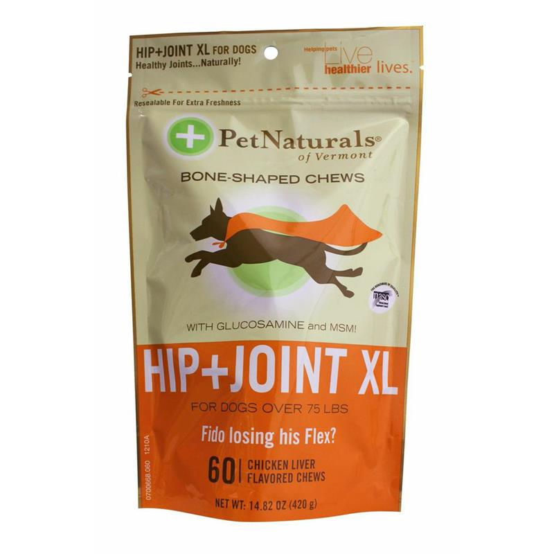 Pet Naturals Hip & Joint Soft Chews for XL Dogs, 14.82 oz, 60 ct.