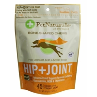 Pet Naturals Hip & Joint Soft Chews for Medium & Large Dogs, 8.73 oz, 45 ct.