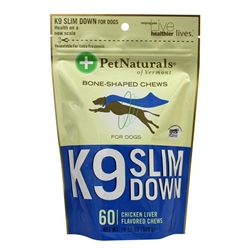 Pet Naturals K-9 Slim Down Soft Chews, 10.58 oz, 60 ct.