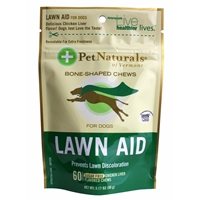 Pet Naturals Lawn Aid Soft Chews for Dogs, 3.17 oz, 60 ct.