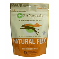 Pet Naturals Natural Flex Soft Chews for Dogs, 8.41 oz, 45 ct.