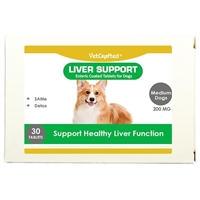 VetCrafted Liver Support Enteric Coated Tablets for Medium Dogs, 30 ct.