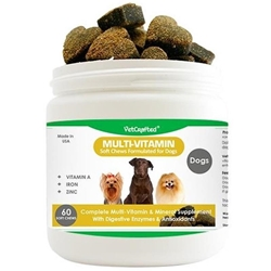 VetCrafted Multi-Vitamin Soft Chews for Dogs, 60 ct.