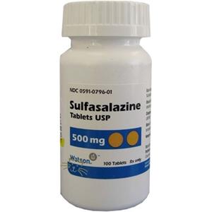 Sulfasalazine 500 Mg 500 Tablets Vetdepot Com