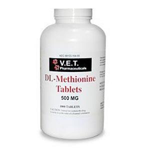 Dl Methionine 500 Mg 1000 Tablets Vetdepot Com